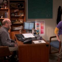 Sheldon confessing to Bert.