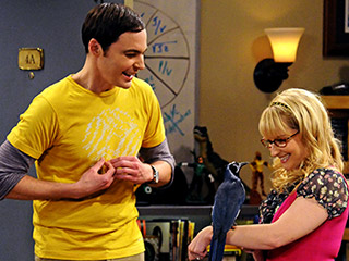 Sheldon and bird