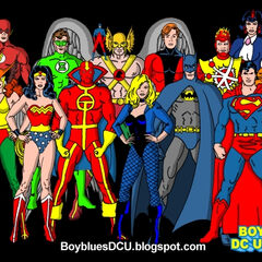 The real Justice League of America.