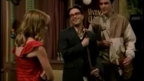 The Big Bang Theory Unaired Pilot Scene 2