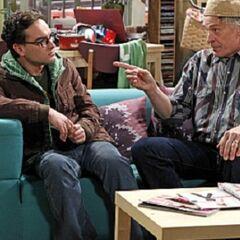 Wyatt having a talk with Leonard.