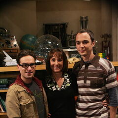 Leonard, Mary and Sheldon.