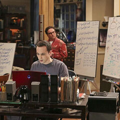 Leonard wakes up to fund that Sheldon has completed the math on his theory and written a paper.