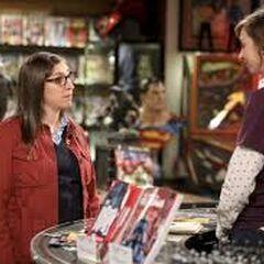I'm Sheldon's fiancée.