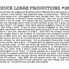 Chuck Lorre Productions, #189.