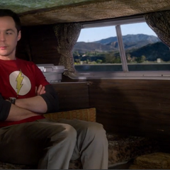 Sheldon has been kidnapped.