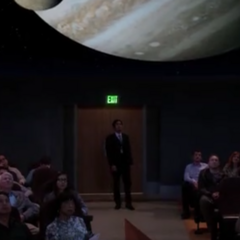 Raj's planetarium show.