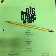 Script title page.