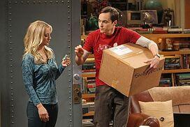 TBBT 6x03 Sheldon and Penny