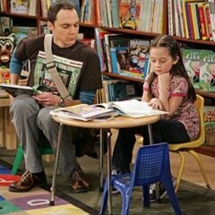 Sheldon with Rebecca.