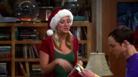 The Big Bang Theory - Penny's Christmas gift to Sheldon