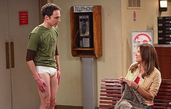 the big bang theory penny nackt