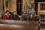 Church with Sheldon's mom