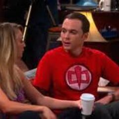 Penny and Sheldon both missing Leonard.