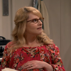 Bernadette is shocked that Raj let it slip.
