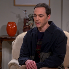 Sheldon apologizing to the Wolowitzes.
