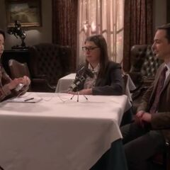 Interview with Amy and Sheldon.