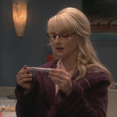 Bernadette is pregnant again.