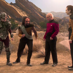 TNG players posing for the camera.