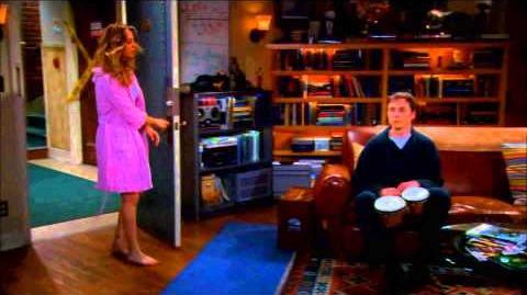 The Big Bang Theory Sheldon plays Bongos German-0