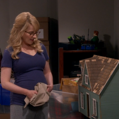 Bernadette finds her old doll house.
