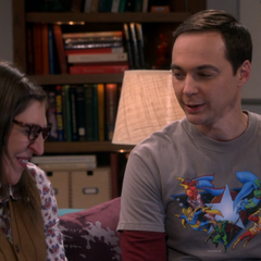 Sheldon is proud of Amy.