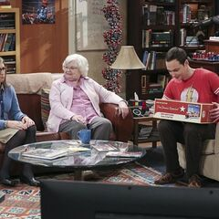 Sheldon got a train set from Meemaw. Amy got a hard time.