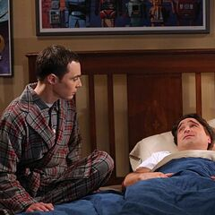 Sheldon doesn't want Leonard to have unnecessary surgery.