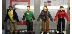8-INCH ACTION FIGURES SERIES THE BIG BANG THEORY