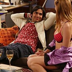 Raj is getting lucky.