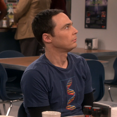 Sheldon is jealous.
