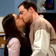 Shamy kiss.