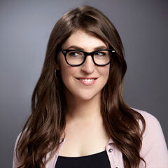 Publicity shot of Mayim as Amy.