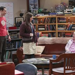 Amy finally gets to meet Sheldon's grandmother.