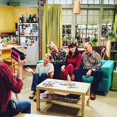 Penny's family - Behind the scenes.