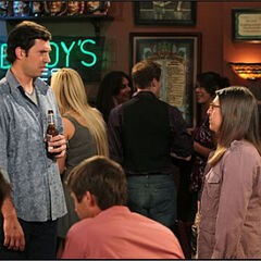 Amy approaches Zack to propose coitus with him.