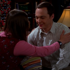 Sheldon wants to make out.