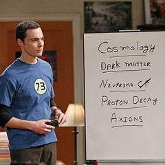 Sheldon need to find a new field of study beyond string theory.