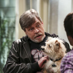 Mark and Bark Hamill.