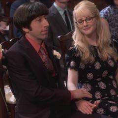 Howard and Bernadette.