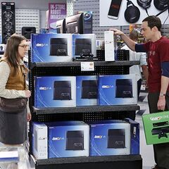 Sheldon trying to make decision for a new game system.