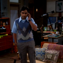 Raj's father tells him that he's moving out.