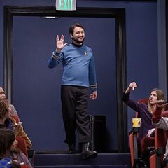 WIl Wheaton mixes franchises.