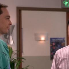 Sheldon introducing Tam.