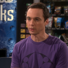 Sheldon is hurt and flattered.