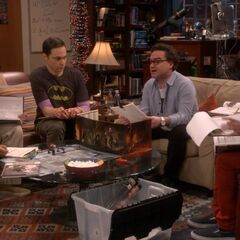 The guys playing Dungeons and Dragons.