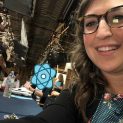 Mayim back at work.