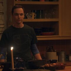 Sheldon'd LHOTP dinner.