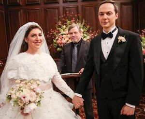 Sheldon And Amy Wedding.Sheldon And Amy S Wedding The Big Bang Theory Wiki Fandom