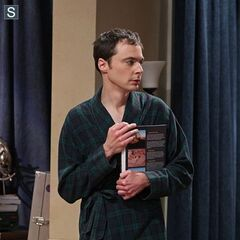Guess who Sheldon slept with?